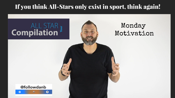 If you think All-Stars only exist in sport, think again!