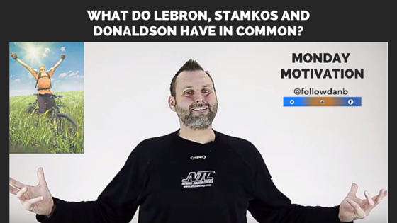 What do Lebron, Stamkos and Donaldson have in common?